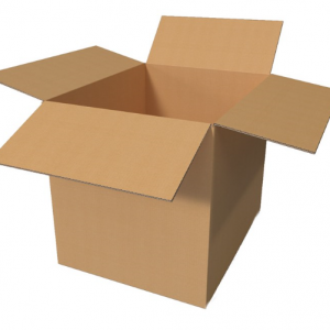 Corrugated double wall boxes 46 x 33 x 33 cm